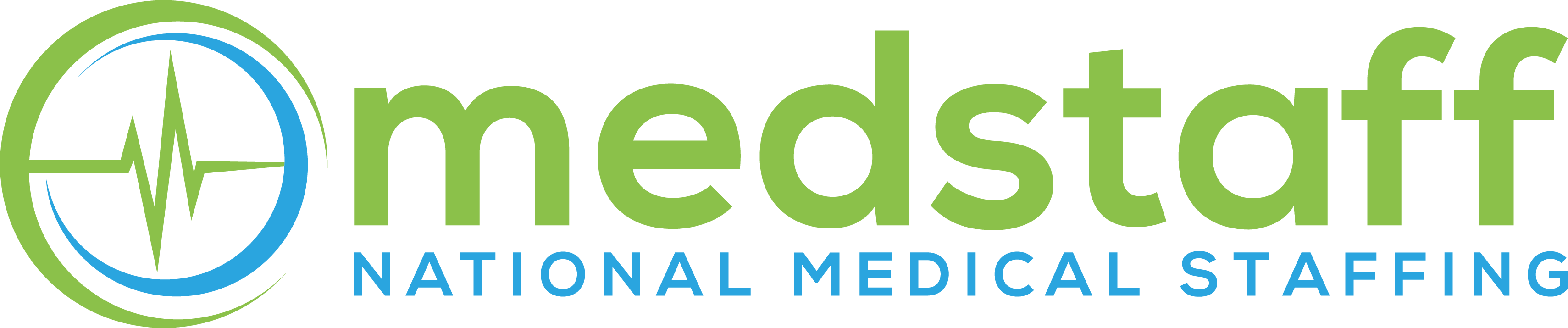 Medstaff National Medical Staffing Logo